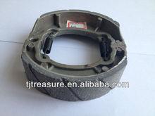 2014 High quality motorcycle manufacturing factories aluminum brake shoe/shoe brake for sale