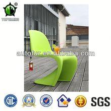Verner designed carbon fiber panton s chair