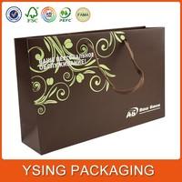 Custom made recycle paper bag