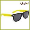 Year 2014 Matte Yellow Sunglasses.Wholesale Sunglasses.Custom Matte Yellow Sunglass