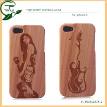 factory hot selling design for iphone 5S cases lifeproofing,wood case for iphone 5