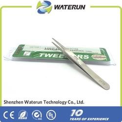 Vetus pointed stainless steel eyebrow tweezers