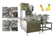 NTF-100 Effervescent tablet filling packaging machine