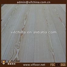 Abc qualité Unfinished planchers de bois de mélèze avec brossé conception