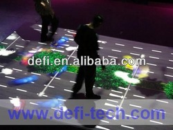 amazing multimedia interactive system floors/wall