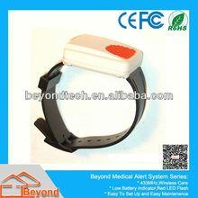 Watch wireless fire & smoke detector