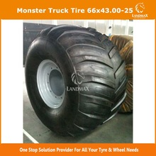 New monster truck tire 66x43.00-25