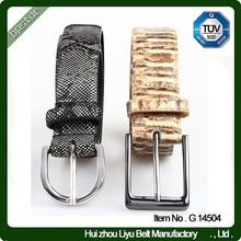Custom Fashionable Genuine Leather Woman Belt