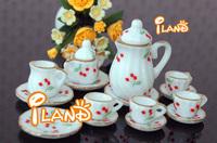 Dollhouse Kitchen Ware Mini Tea Pot Set DC036
