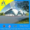 prefab steel house, movable house, modular mobile home