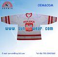 Uniforme del baloncesto/envío gratis de color rosa camiseta de hockey para las mujeres