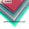 4mm colored pc sheet with UV protection greenhouse made in china manufacture factory direct price made in china
