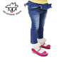 Cotton casual Latest children jeans pants