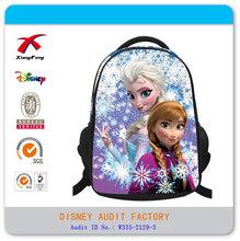 Frozen bag backpack school bag Anna and Elsa wholesale 2014