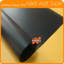 1000mm width 0.3mm thickness black TPT back sheet for solar panel