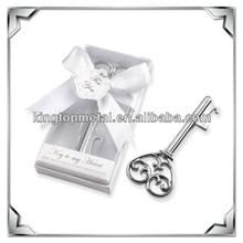 custom metal key to my heart bottle opener