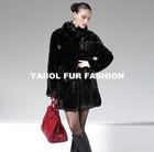 mk14099 beautiful winter mink fur coat short design