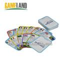 cartas y naipes para niños de educación trading card game de fabricantes de impresión
