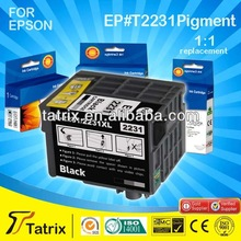 China Product Pigment Cartridge for Epson T-2231 Sell In Alibaba