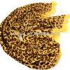 wholesale women fashion long soft wrap lady shawl leopard scarf