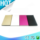 Slim polymer mobile battery charger,mini power bank 4000mah for smartphone
