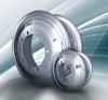 OEM tubeless / tube steel wheel rim used for trucks and passenger buses TOYOTA / FOTAN / AUMAN / HINO / VOLVOI / ISUZU factory