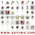 Cactus planta de vaso atacadista de yiwu mercado para flores artificiais& bina