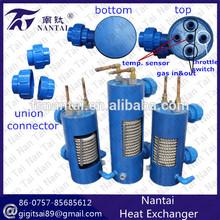 High-efficiency Sea Water Cooled Plastic Heat Exchanger/Condenser