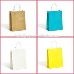 New plain white kraft paper bag manufacturers, printed kraft paper bag