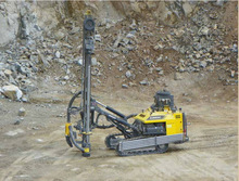 Atlas Copco mobile geotechnical hydraulic drill rigs for construction , quarries, cement and limestone