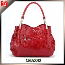 2014 manufacturer big brand custom handbags custom metal logo for handbags