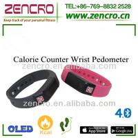 Wearable Technology Bluetooth Wristband Pedometer Similar Nike Fuel Band JAWBONE UP Fitbit Flex Wristband