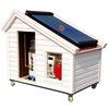 Split pressurized solar water heating system
