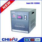 new type single phase full automatic servo motor control air conditioner voltage stabilizer