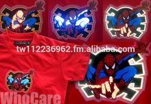 EL Flashing T-shirt, LED T-shirt, EL Auto Active Flashing T-shirt, ET 006