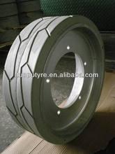 solid tires 406x125 aerial work platform solid tire 406x125 ,scissor lift tire