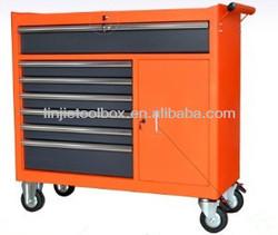 42'' wide 9 drawers and 1 door aluminum tool box
