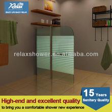 2014 Popular Double bath Shower Door Screen