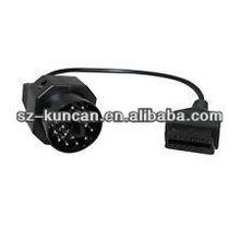 88890026 obd cable diagnostic for vcads interface to DC5.5*2.1/SAE/alligator/rj45/USB connector szkuncan