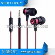 Fashion design colorful E-E005 earphone jack accessory for phone low price