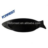 Cast iron fish cookware