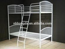 metal kids bunk bed with slide from Hongda