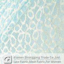 Fashion new style french bobbin knitting lace fabric