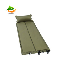 Wholesale Outdoor Folding Inflatable Air Bed Camping Mat with Pillow