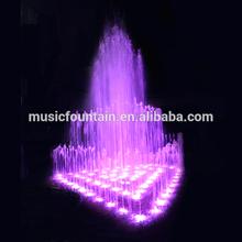 Guangzhou factory supply music dancing garden 3 tier water fountain