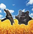granja de campo herramientas multifunción de gasolina del motor de eje vertical macollos rastra de discos de piezas