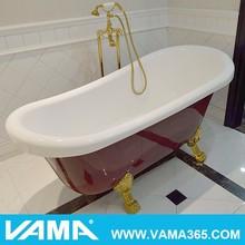 Wholesale SPA Classic Freestanding Clear Adult Acrylic Bathtub