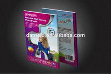 HOT SELLING Premium Glossy inkjet cast coated Photo Paper(135g)