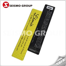 30cm plastic straight ruler promotion gifts
