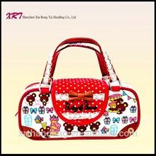 Silk Screen Printed Mini Pochette Bag Handbag for Kids